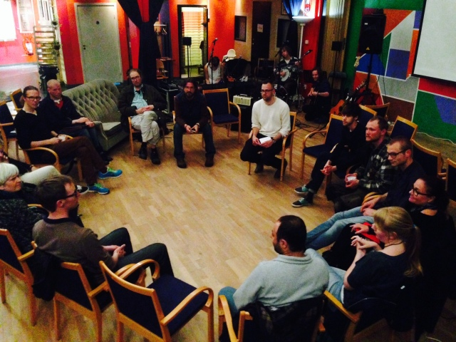 May 2015 - Workshop Freedom from Money in Malmö (with Humble Stumble)