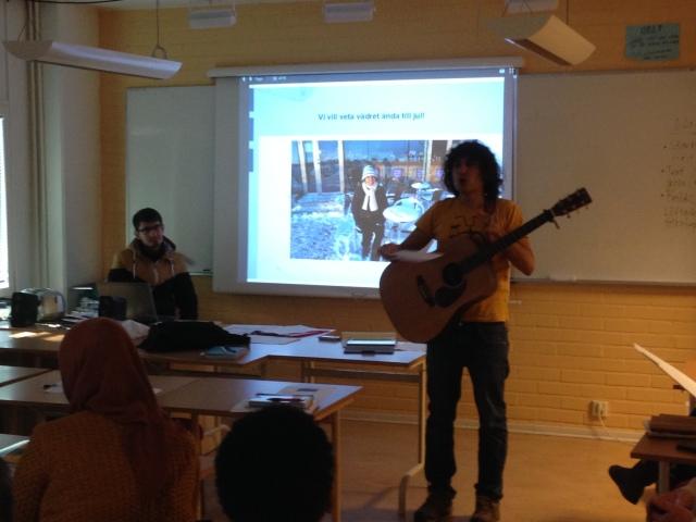 December 2014 - Besök till SFI-kurs i Göteborg